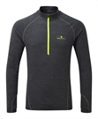 Picture of Ron Hill Men's Stride Thermal 1/2 Zip Tee