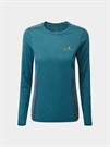 Picture of Ron Hill Ladies Life Nightrunner L/S Tee - Blue